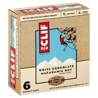 Clif Bar 6-Pack Energy Bar in White Chocolate Macadamia