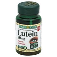 Nature's Bounty 30-Count Lutein 20 mg Softgels