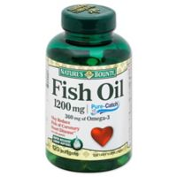 Nature's Bounty 100-Count 1200 mg Fish Oil Rapid Release Liquid Softgels
