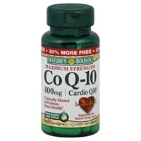 Nature's Bounty 30-Count Maximum Strength Co Q-10 400 mg Softgels