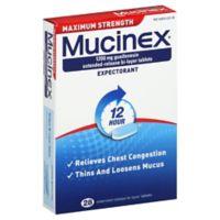 Mucinex 28-Count Maximum Strength Tablets