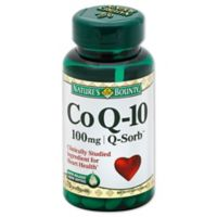 Nature's Bounty 60-Count Co Q-10 100mg Softgels
