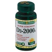 Nature's Bounty® Vitamin D3-2000 IU Dietary Supplement 100-Count Softgels