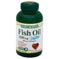 Nature's Bounty 180-Count Fish Oil 1200mg Omega-3 Softgels