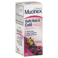 Mucinex® Children's Stuffy Nose & Cold 4 oz. Expectorant and Decongestant in Mixed Berry