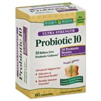 Nature's Bounty 60-Count Ultra Strength Advanced Probiotic 10 in Capsules