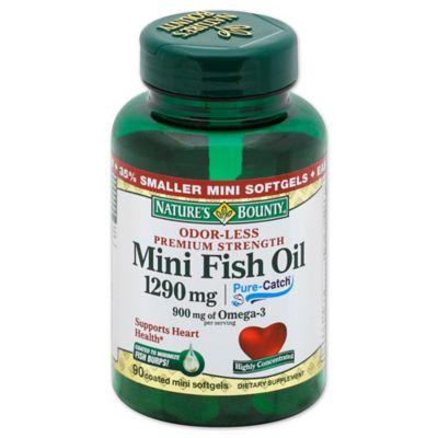 Nature S Bounty Mini Fish Oil Review