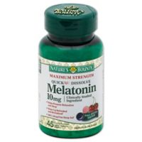Nature's Bounty 45-Count Maximum Strength Quick Dissolve Melatonin 10mg Tablets