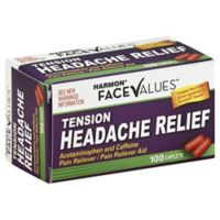 Harmon® Face Values™ 100-Count Tension Headache Relief Caplets