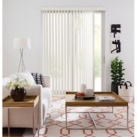 Real Simple® Vertical 66-Inch x 84-Inch Blind in Alabaster