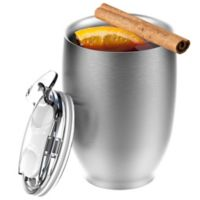 Imperial Beverage Insulated Cup in Silver
