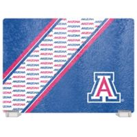 University of Arizona Tempered Glass Cutting Board