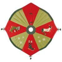 Ice Skate 54-Inch Christmas Tree Skirt
