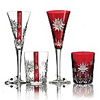 Waterford® Crystal Snowflake Wishes 2011 1st Edition Joy Lismore Glasses