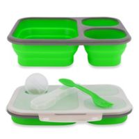 SmartPlanet Large Collapsible Eco Lunch Kit in Green
