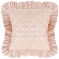 Glenna Jean Paris Velvet Cutout Pillow in Cream