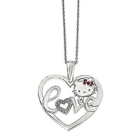 hello kitty fine jewelry sterling silver 18 inch chain