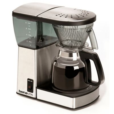 Coffee Makers Sold At Bed Bath And Beyond : Bonavita 8-Cup Coffee Brewer with Glass Carafe - Bed Bath & Beyond