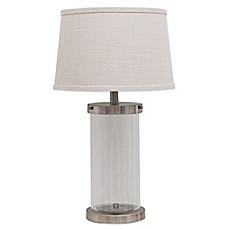 Beautiful Fillable Glass Table Lamp