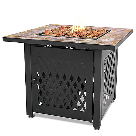 Buy Uniflame 174 Endless Summer 174 Lp Gas Fire Pit With Slate