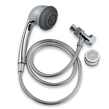 Culligan Handheld Filtering Shower Head in Chrome Bed Bath Beyond