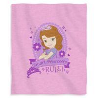 Disney® Sofia Princess in Training Sweatshirt Throw