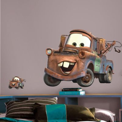 Wall Decor U003e RoomMates Disney® Pixar Cars Mater Peel And Stick Giant Wall  Decals