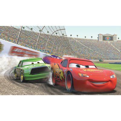 Disney® Cars Lightning McQueen Prepasted 10.5 Foot X 6 Foot Mural