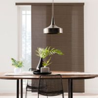 Real Simple® Adjustable Deluxe Panel System in Black/Brown