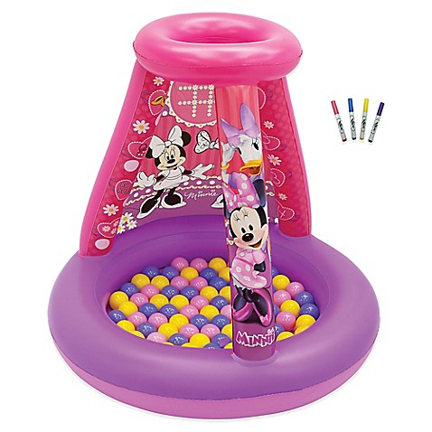 DisneyR Minnie Mouse Color N Play Activity Playland