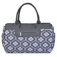 447d977b22 JJ Cole® Parker Weekender Diaper Bag in Grey Floret