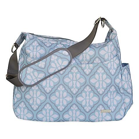 jj cole linden diaper bag in blue iris bed bath beyond. Black Bedroom Furniture Sets. Home Design Ideas