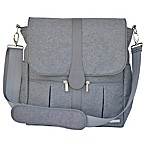JJ Cole® Backpack Diaper Bag in Grey Heather