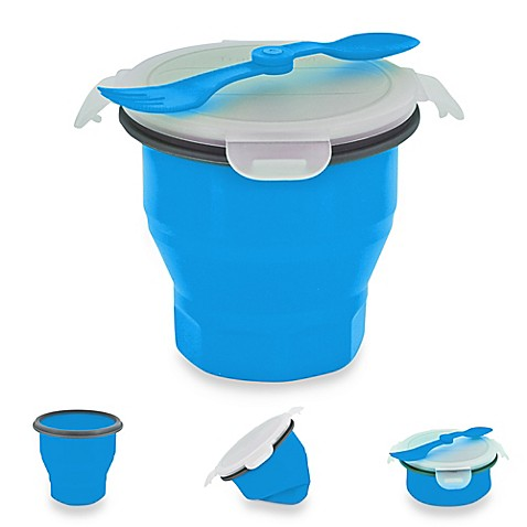 image of SmartPlanet Collapsible Soup & Salad Bowl Meal Kit