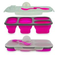 SmartPlanet Portion Perfect Collapsible Meal Kit in Pink