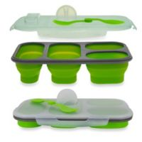 SmartPlanet Portion Perfect Collapsible Meal Kit in Green