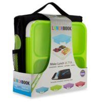 SmartPlanet Ultrathin Lunchbook Meal Kit in Green
