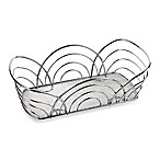 Spectrum™ Flower Bread Basket in Chrome