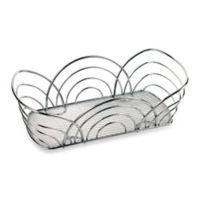 Spectrum™ Flower Bread Basket in Chrome