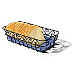 Spectrum™ Scroll Bread Basket in Black
