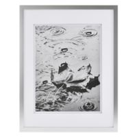 Real Simple® Silver Finish Wall Frame with White Double Mat for 10-Inch x 13-Inch Photo