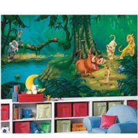 Disney® Lion King Chair Rail Prepasted 10.5-Foot x 6-Foot Mural