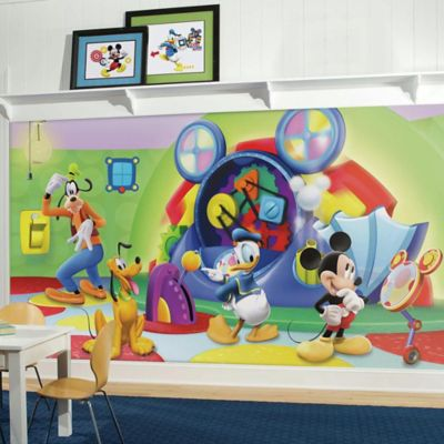 mickey mouse clubhouse bedroom set. Wall Decor  Disney Mickey Mouse Clubhouse Capers Chair Rail 10 5 Foot x 6 from Buy Baby
