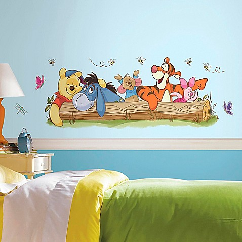 Disney 174 Pooh And Friends Outdoor Fun Peel And Stick Wall