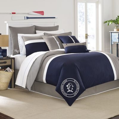 Buy Nautical Bedding King From Bed Bath Beyond - Blue and grey comforter sets