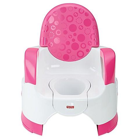 Fisher Price 174 Custom Comfort Potty For Girls Buybuy Baby