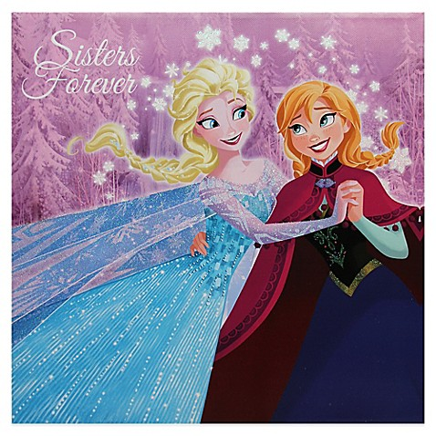 Disney 174 Frozen Sisters Forever Wall D 233 Cor Bed Bath Amp Beyond