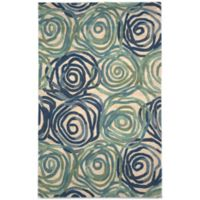 Trans-Ocean Tivoli Rambling Rose 8-Foot x 10-Foot Rug in Playa