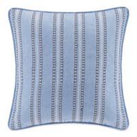 Echo Design Kamala Square Throw Pillow in Blue