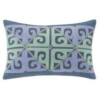 Echo Design™ Kamala Oblong Throw Pillow in Blue/Aqua